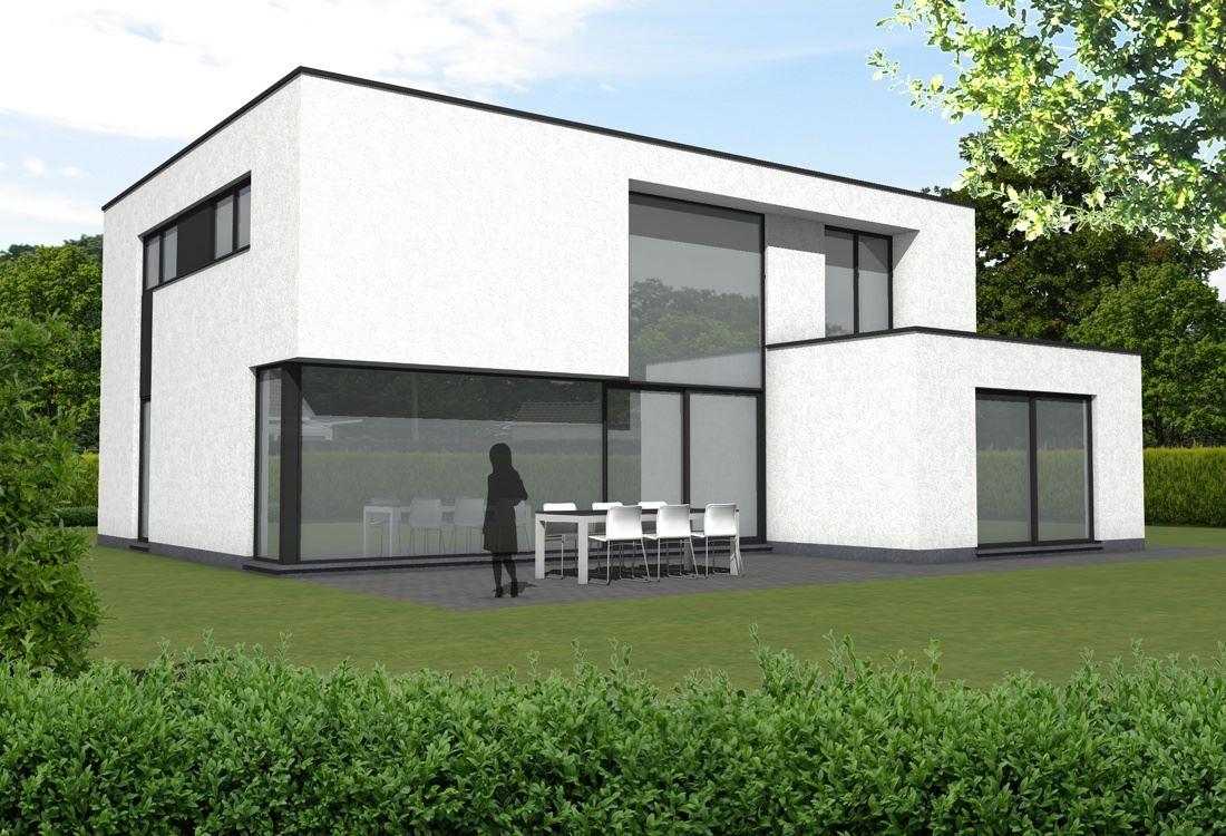 Ara architecten katleen raemen en davy raemenwoning lsch ara architecten katleen raemen en - Moderne kleur huis ...